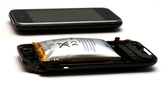 La batterie a gonflé