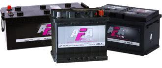 Batteries Afa Plus