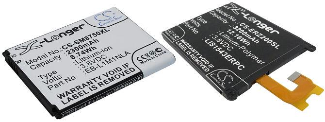 batterie lithium-ion et lithium polymère