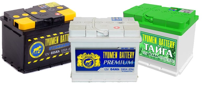 Batteries Tyumen