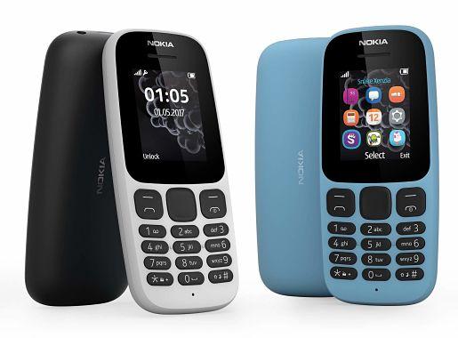 Nokia 105 et Dual sim