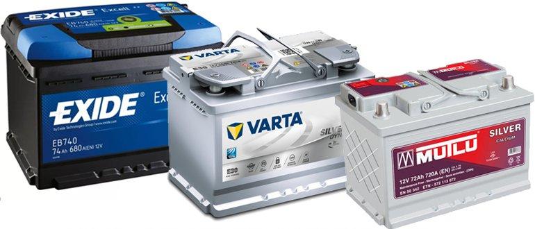 Batteries sans entretien