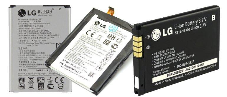 Batteries LG