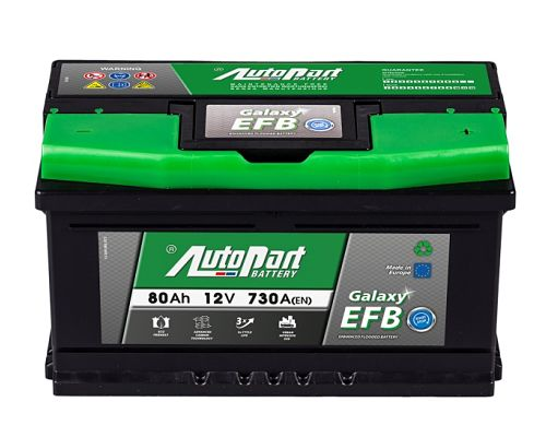 Battery efb