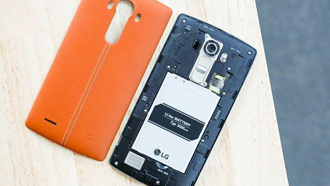 LG avec batterie amovible