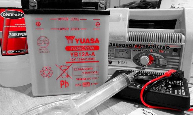 Příprava suché baterie