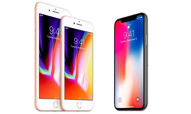Apple iPhone 8 Plus et iPhone X