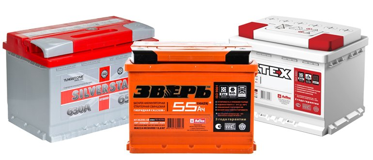 Batterie ca +