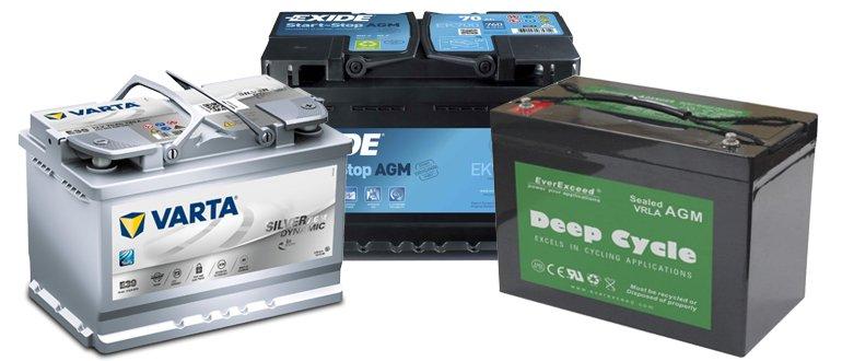 AGM baterie