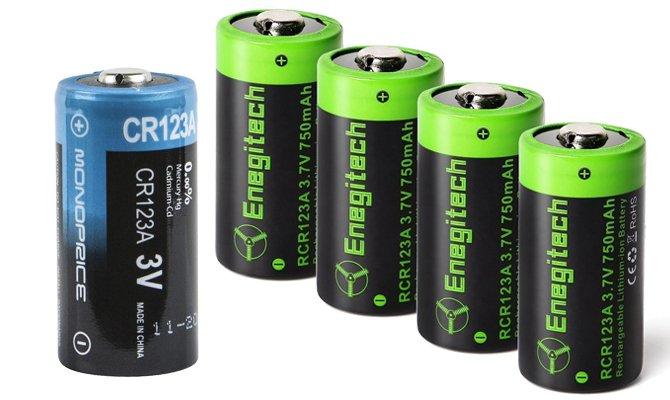 Batterien und Batterie