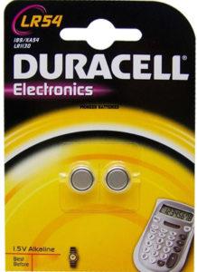 Ersetzt Duracell LR1130 LR54
