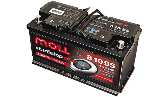 Moll baterie