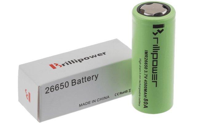 batterie 26650