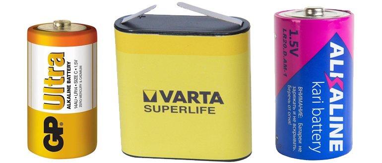 Grandes batteries