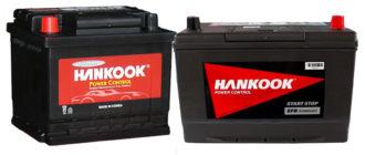 Hankook baterie