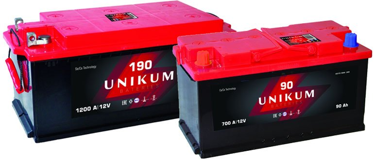 Batteries Unikum