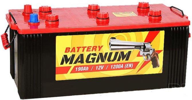 Batterie magnum pour camions