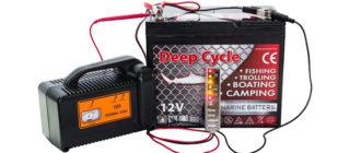 Nabíjení gelové baterie