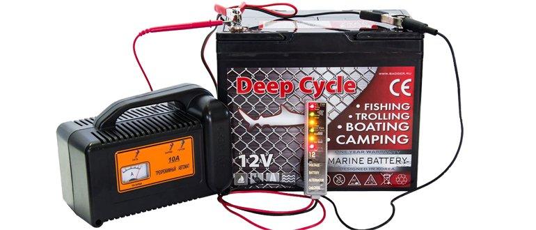Chargement de la batterie gel