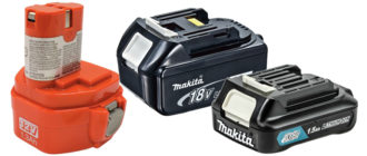 Batteries pour tournevis Makita