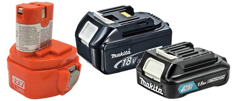 Batteries pour tournevis Makita