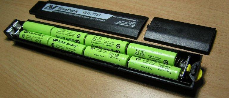 přebalení baterie notebooku