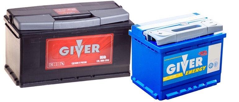 Batteries de Donneur