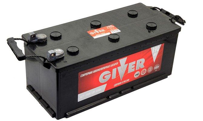 Batterie de chargement