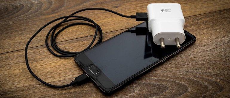 Smartphone a nabíjení