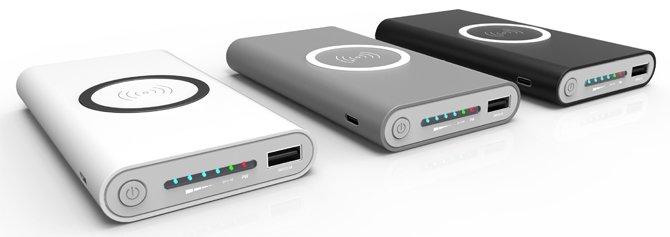 batterie externe sans fil